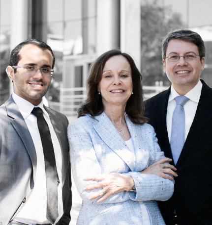 Daniel, Rosemarie e Bernardo